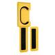 Cycloc Endo Fahrradhalterung yellow